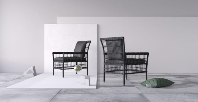 Naxos Outdoor 2x Armchair
