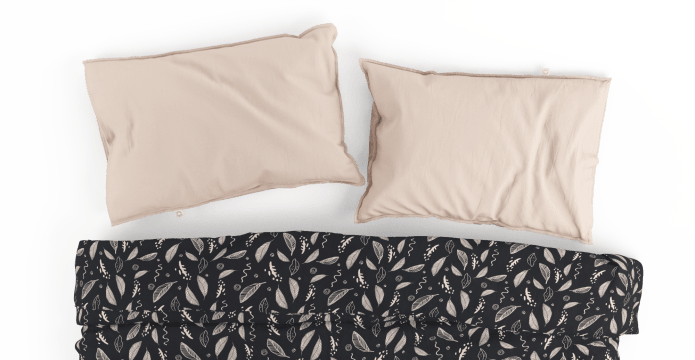 Skeleton Leaves Duvet Cover Set