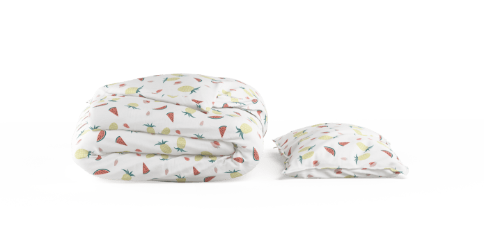I Carried a Pineapple Kids Duvet Cover Set