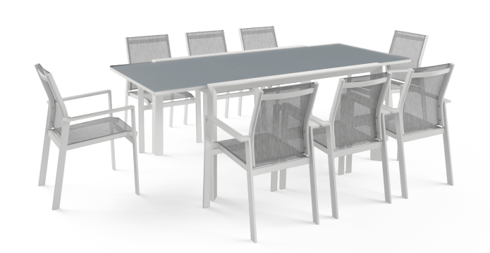 Malibu Outdoor Extendable Dining Table 150/225cm
