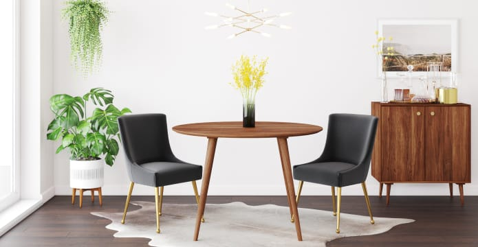 Frank Round Dining Table 115cm