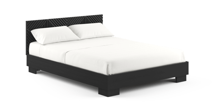 Marlon Queen Wooden Bed Frame
