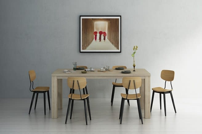 A designer dining set