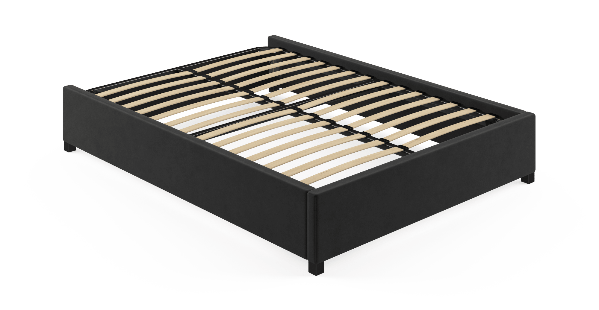 Buy Queen Size Upholstered Standard Bed Frame Base Online In
