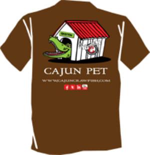 Cajun Pet T-shirt-small