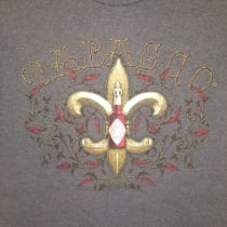 TABASCO® Fleur De Lis T-Shirt (Medium)