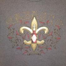 TABASCO® Fleur De Lis T-Shirt (Medium)