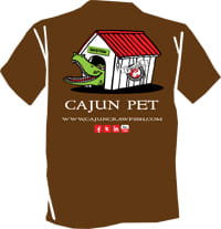 Cajun Pet T-shirt-small