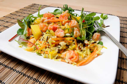 Crawfish Mango Salad