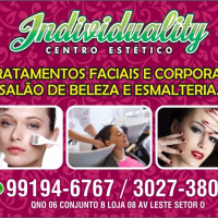 Vaga Emprego Manicure e pedicure Ceilândia Norte (Ceilândia) BRASILIA Distrito Federal CLÍNICA DE ESTÉTICA / SPA CENTRO ESTÉTICO INDIVIDUALITY