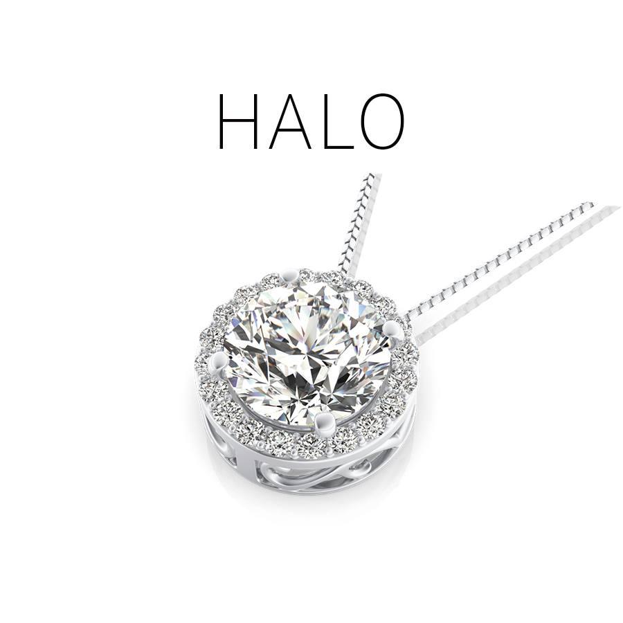 Halo Pendants