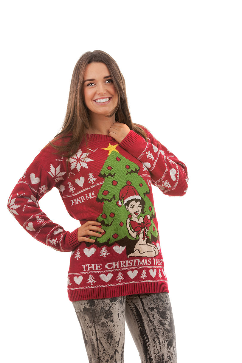 Find Me Under The Christmas Tree Jumper | Novelty