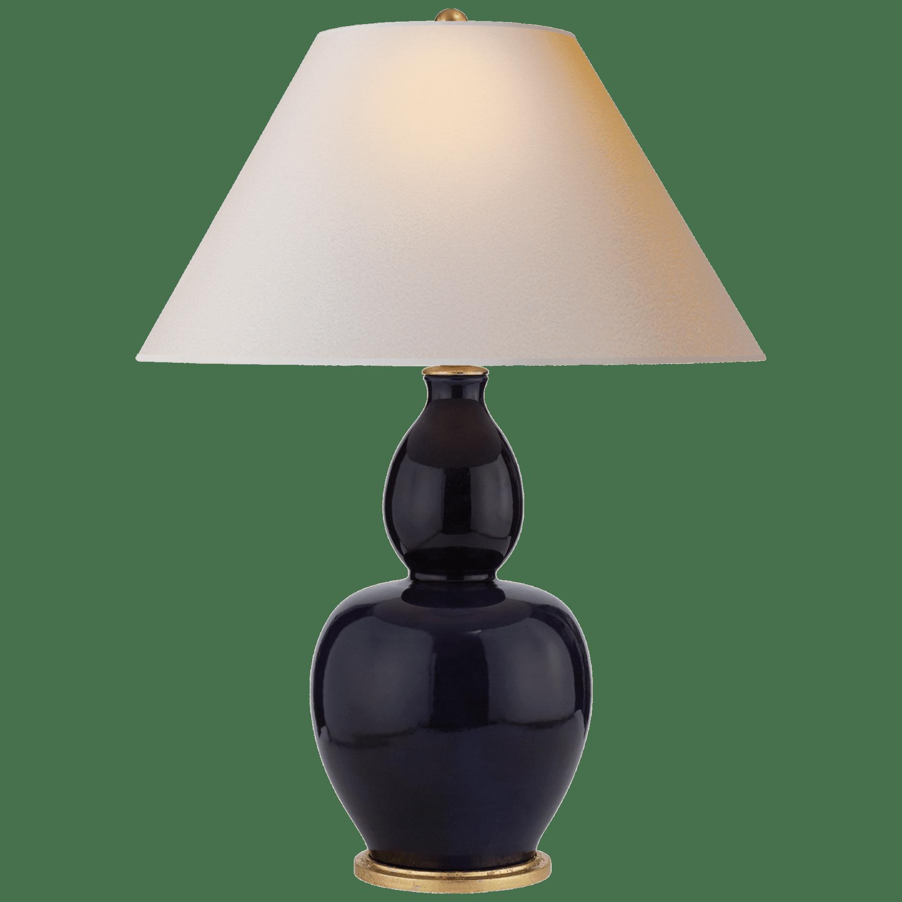 Yue Double Gourd Table Lamp Designer E F Chapman