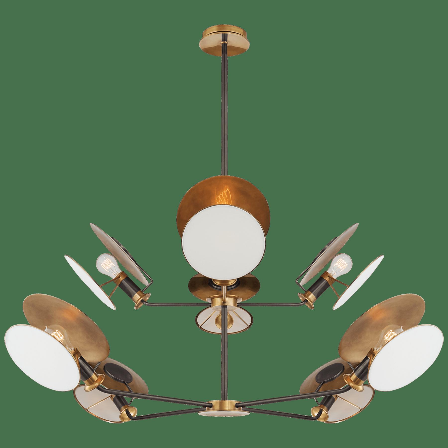 Osiris Large Reflector Chandelier