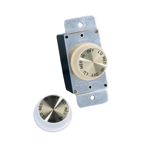 Ceiling Fan Rotary Wall Control White
