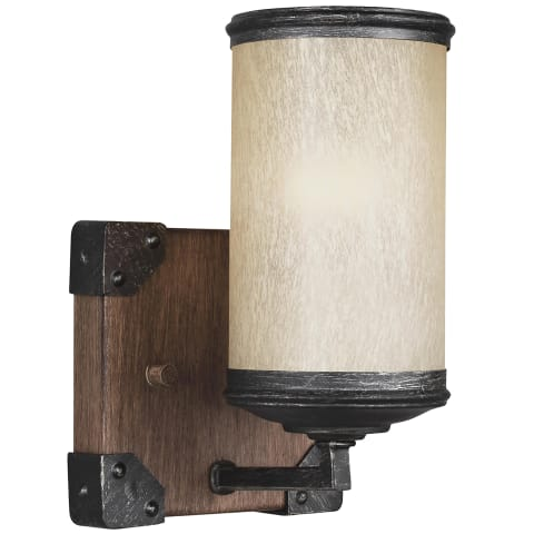Dunning One Light Wall / Bath Sconce Stardust