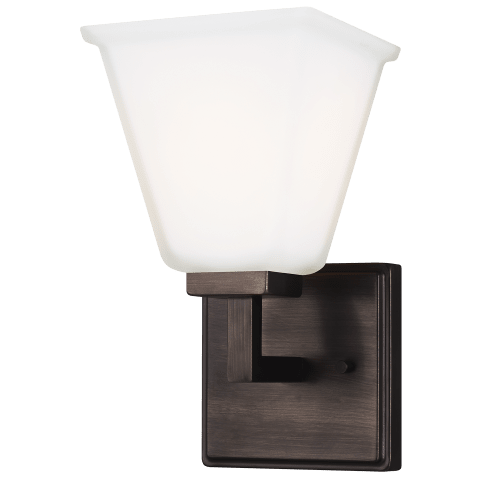 Ellis Harper One Light Wall / Bath Sconce Brushed Oil Rubbed Bronze Bulbs Inc