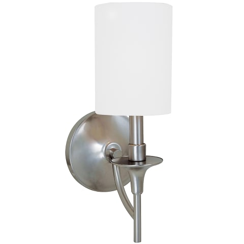 Stirling One Light Wall / Bath Sconce Brushed Nickel Bulbs Inc