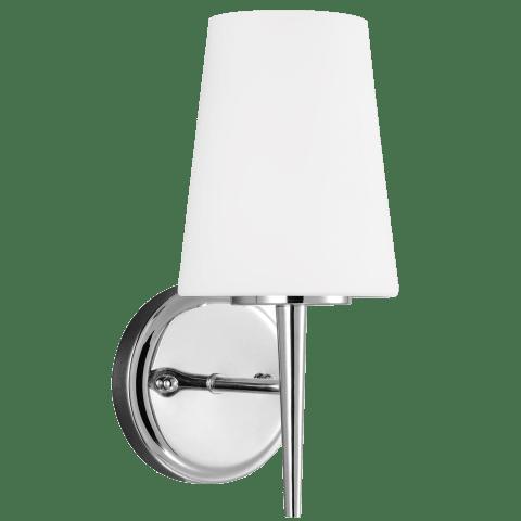 Driscoll One Light Wall / Bath Sconce Chrome Bulbs Inc