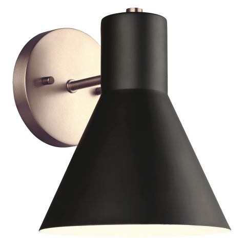 Towner One Light Wall / Bath Sconce Satin Bronze