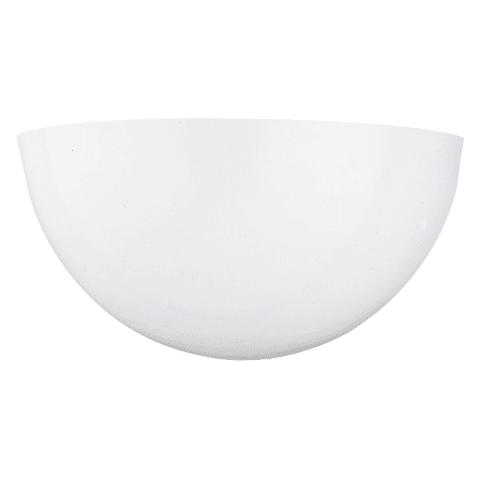 One Light Wall / Bath Sconce White Bulbs Inc