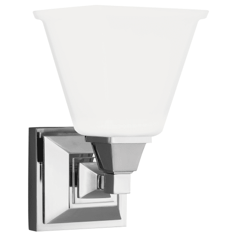 Denhelm One Light Wall / Bath Sconce Chrome