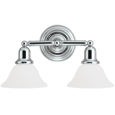 Sussex Two Light Wall / Bath Chrome