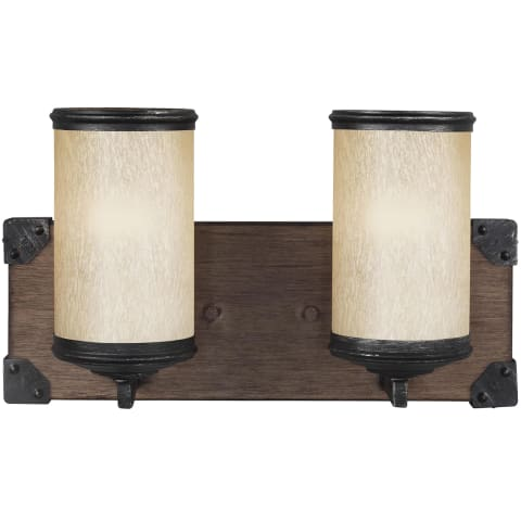 Dunning Two Light Wall / Bath Stardust