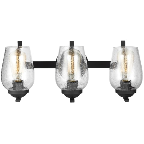 Morill Three Light Wall / Bath Blacksmith
