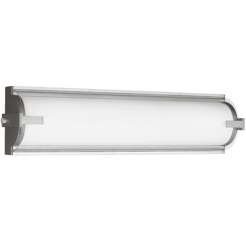 Braunfels Small LED Wall / Bath Satin Aluminum