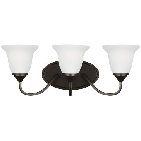 Clement Three Light Wall / Bath Heirloom Bronze Bulbs Inc