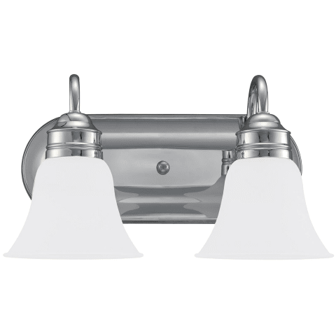 Gladstone Two Light Wall / Bath Chrome