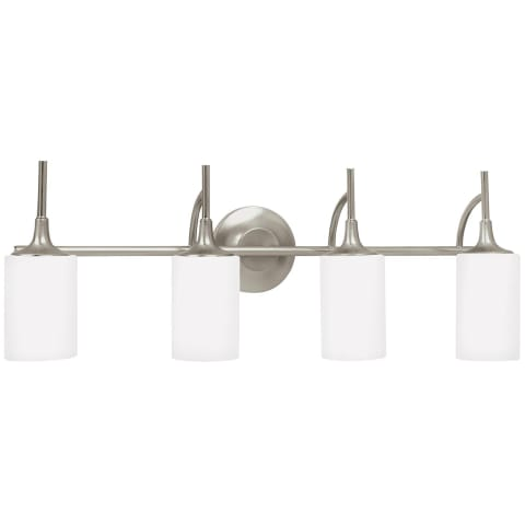 Stirling Four Light Wall / Bath Brushed Nickel