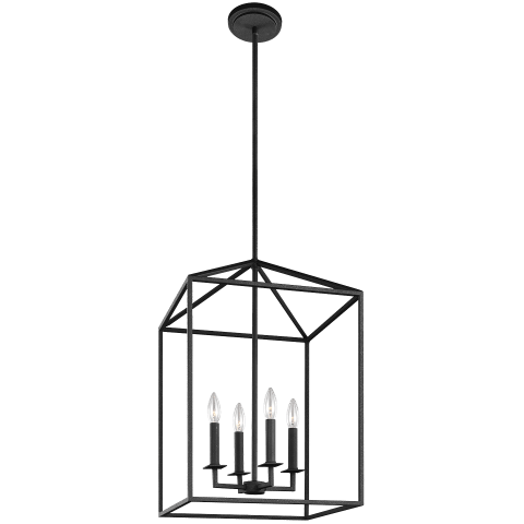 Perryton Medium Four Light Hall / Foyer Blacksmith