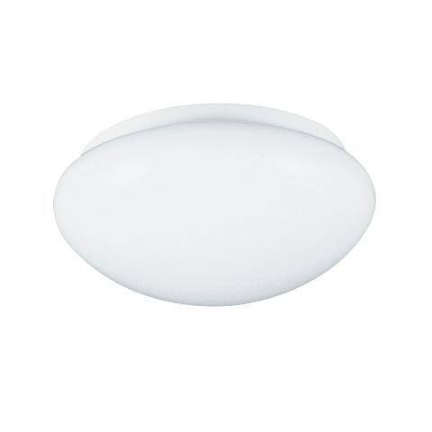 One Light Flush Mount White