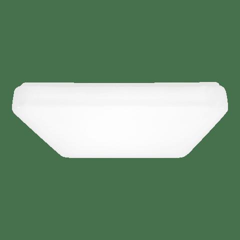 Vitus Small LED Square Flush Mount White