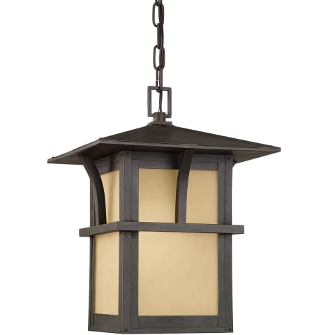 Medford Lakes One Light Outdoor Pendant Statuary Bronze