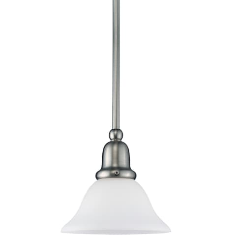 Sussex One Light Mini-Pendant Brushed Nickel