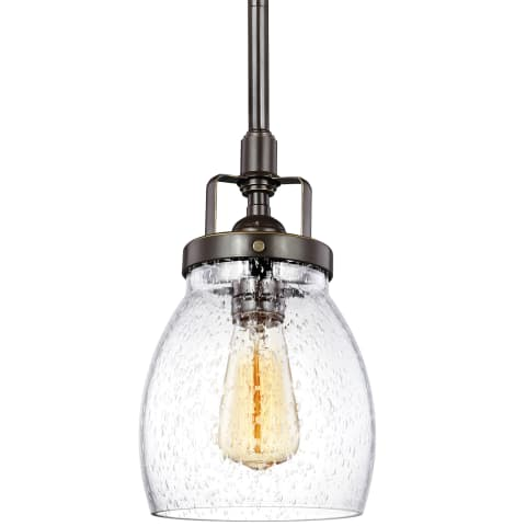 Belton One Light Mini-Pendant Heirloom Bronze