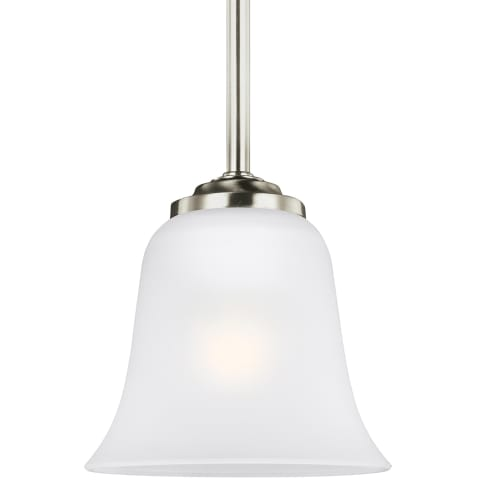Emmons One Light Mini-Pendant Brushed Nickel