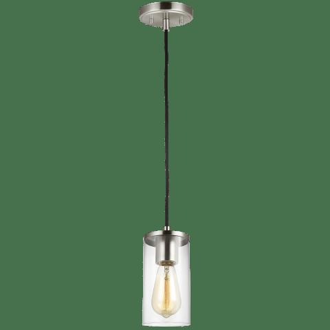 Zire One Light Mini-Pendant Brushed Nickel