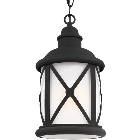 Lakeview One Light Outdoor Pendant Black Bulbs Inc