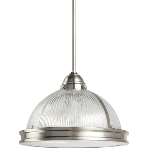 Pratt Street Prismatic Two Light Pendant Autumn Bronze