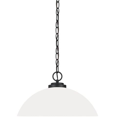 Oslo One Light Pendant Blacksmith