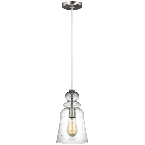 Kea One Light Pendant Brushed Nickel