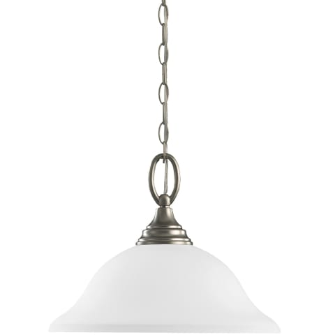 Wheaton One Light Pendant Brushed Nickel