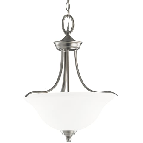 Wheaton Three Light Pendant Brushed Nickel