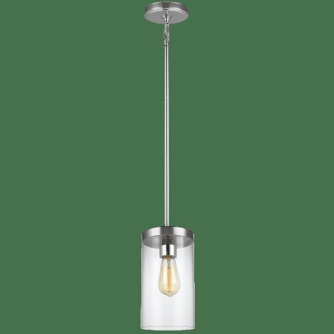 Zire One Light Pendant Chrome Bulbs Inc