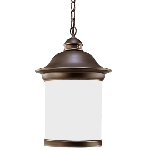 Hermitage One Light Outdoor Pendant Antique Bronze