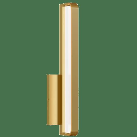 Banda 13 Wall/Bath natural brass 3000K 90 CRI integrated led 90 cri 3000k 120v